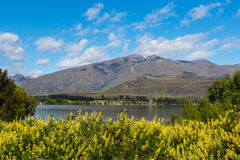 Lake and mountain landscape Stock Photography
