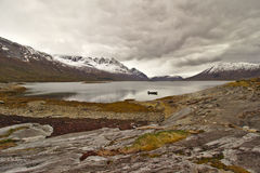 Lake and mountain Norway Royalty Free Stock Photography