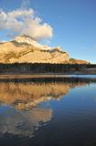 Lake and mountain reflection Stock Image