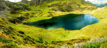 Lake in the mountain Royalty Free Stock Images