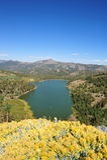 Lake And Mountain View Royalty Free Stock Photo