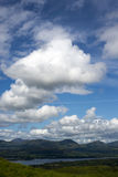 Lake mountain view Stock Photo