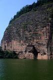 The lake and mountain views in Dajin lake park,Taining,Fujian,China Stock Photos