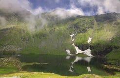 Lake in the mountains Stock Photos