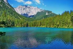 Lake in mountains. Royalty Free Stock Photo