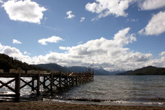 Lake and mountains Stock Photography