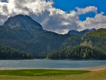 Lake in mountains Stock Photography