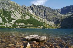 Lake in mountains Royalty Free Stock Image