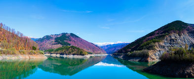 Lake and mountains Royalty Free Stock Photo