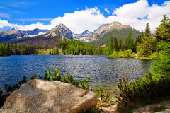 Lake In Mountains Stock Photos