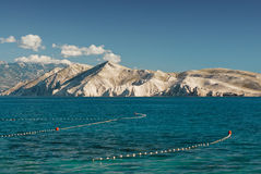 Lake. With mountains in the background Royalty Free Stock Photo