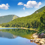 Lake, mountains and blue sky Royalty Free Stock Photography