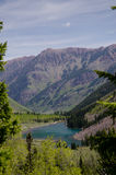 Lake and mountains of Colorado Royalty Free Stock Photos