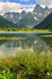 Lake in mountains Stock Photos