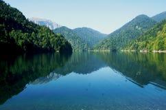 Lake in the mountains royalty free stock photos