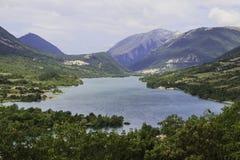 Lake and mountains Stock Photo