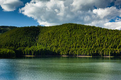 Lake in the mountains Stock Images