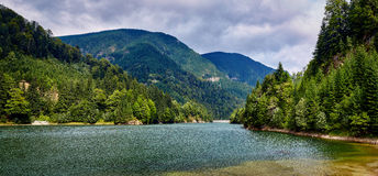 Lake in the mountains Royalty Free Stock Image