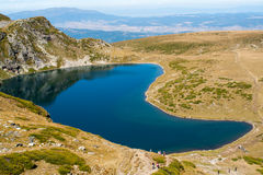 Lake in the mountains Stock Image