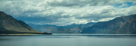 Lake in the Mountains New Zealand Royalty Free Stock Photography