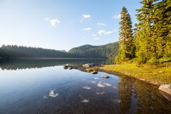 Lake in mountains Royalty Free Stock Photography
