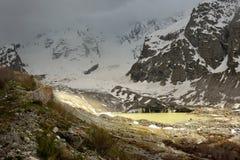 Lake in mountains Royalty Free Stock Image
