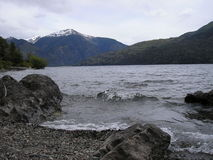 Lake & Mountains. This is the south of Argentina, a paradise of nature Royalty Free Stock Photos