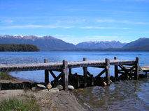 Lake & Mountains Royalty Free Stock Photography