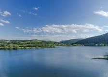 Lake and mountains royalty free stock photos