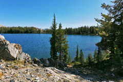 The  lake in mountains in the USA Royalty Free Stock Photos