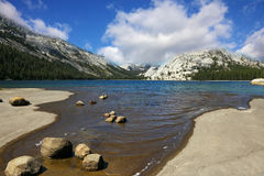 The lake in mountains of Yosemite Royalty Free Stock Image