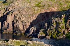 Lake. In Murmansk region summer day Stock Photos