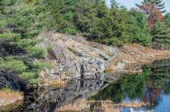 Lake in Muskoka Stock Photo