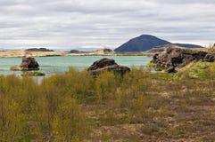 Lake Myvatn. Iceland Royalty Free Stock Photography
