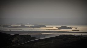 Lake Myvatn in North West Iceland Royalty Free Stock Image