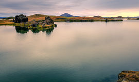 Lake Myvatn Stock Image