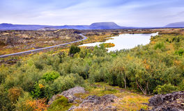 Lake Myvatn Royalty Free Stock Photos