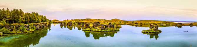 Lake Myvatn Royalty Free Stock Image