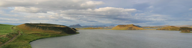 Lake Myvatn Royalty Free Stock Photos