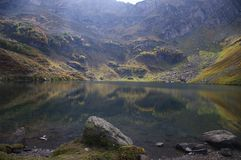 At the lake Mzy. Caucasus. Abkhazia Stock Photos