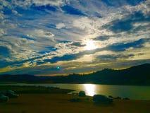 Lake Nacimento, California Royalty Free Stock Images