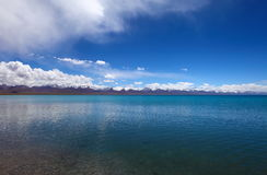 Lake in Nam Co, Tibet Stock Photography