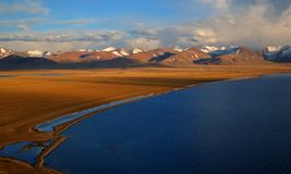 Lake Namtso Royalty Free Stock Image