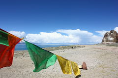 Lake Namtso, Tibet Stock Image