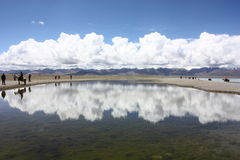 Lake Namtso, Tibet Stock Photography