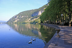 Lake Nantua, France Stock Image