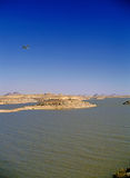 lake nasser Royaltyfri Foto