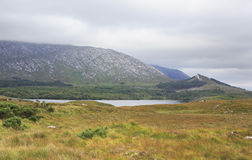 Lake in the National park Connemara. Stock Photography