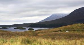 Lake in the National park Connemara. Stock Photo