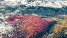 Lake Natron Stock Photography